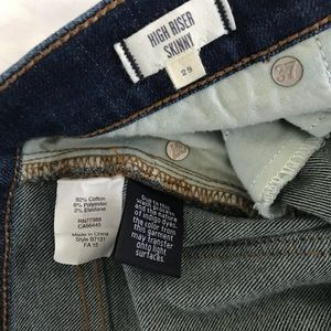 Madewell Jeans - Madewell High Riser Skinny Jeans style B7131